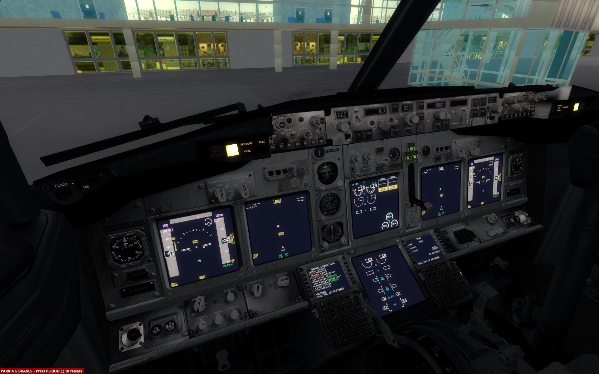 PMDG 737: schlechte Qualität der Panelbeleuchtung - VATSIM Germany Forum